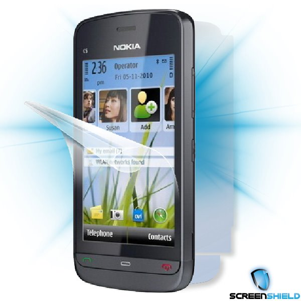 ScreenShield Nokia C5-03 - Film for display + body protection