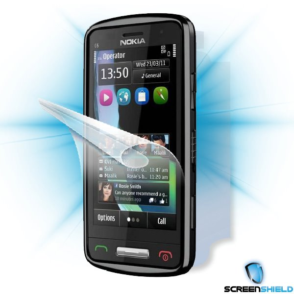 ScreenShield Nokia C6-01 - Film for display + body protection