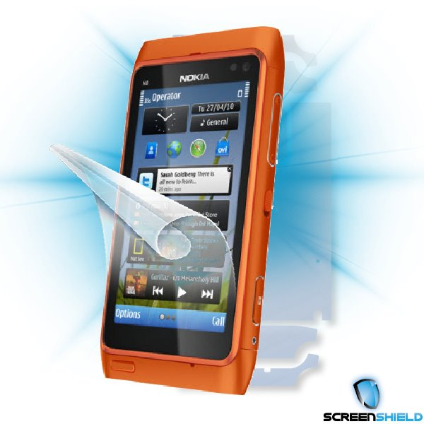 ScreenShield Nokia N8 - Film for display + body protection