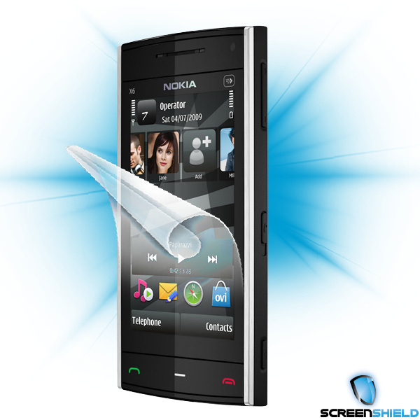 ScreenShield Nokia X6 - Film for display protection