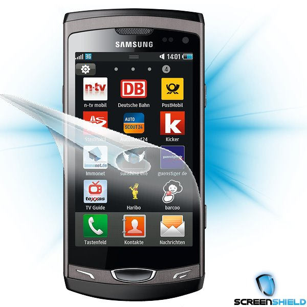 ScreenShield Samsung Wave II (S8530) - Film for display protection