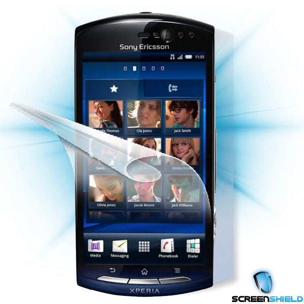 ScreenShield Sony Ericsson Xperia Neo (MT15i) - Film for display + body protection