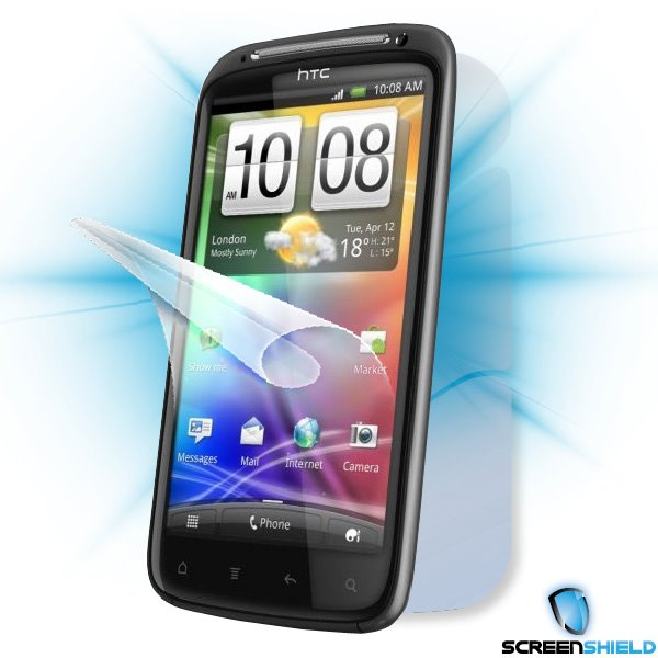 ScreenShield HTC Sensation - Film for display + body protection
