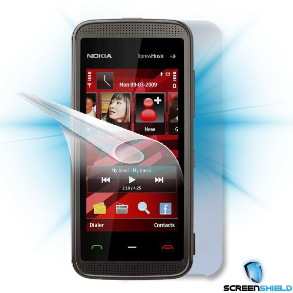 ScreenShield Nokia 5530 XpressMusic - Film for display + body protection