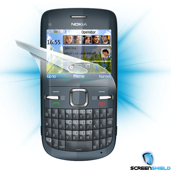 ScreenShield Nokia C3 - Film for display protection