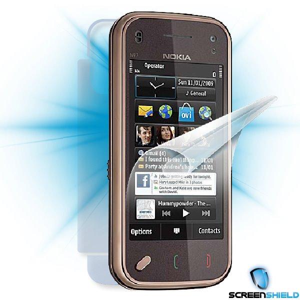 ScreenShield Nokia N97 mini - Film for display + body protection