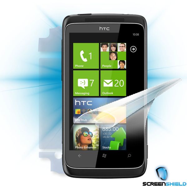 ScreenShield HTC Trophy 7 - Film for display + body protection