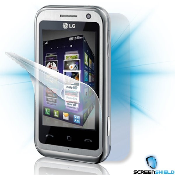 ScreenShield LG KM 900 Arena - Film for display + body protection
