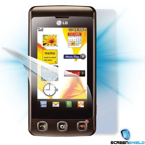 ScreenShield LG KP500 - Film for display + body protection