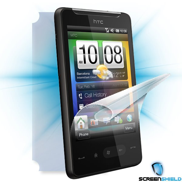 ScreenShield HTC HD mini - Film for display + body protection