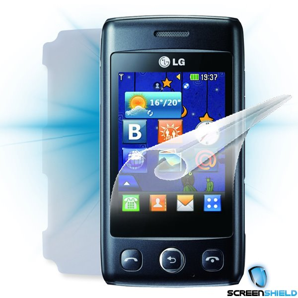 ScreenShield LG Wink Lite (T300) - Film for display + body protection