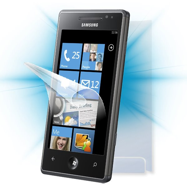 ScreenShield Samsung Omnia 7 (i8700) - Film for display + body protection