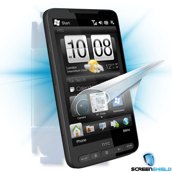ScreenShield HTC HD2 - Film for display + body protection