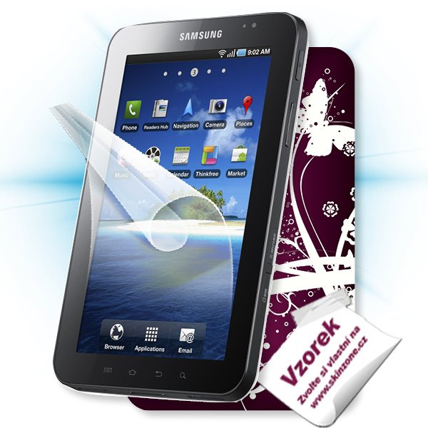 ScreenShield Samsung Galaxy TAB - Film for display protection and voucher for decorative skin (including shipping fee to