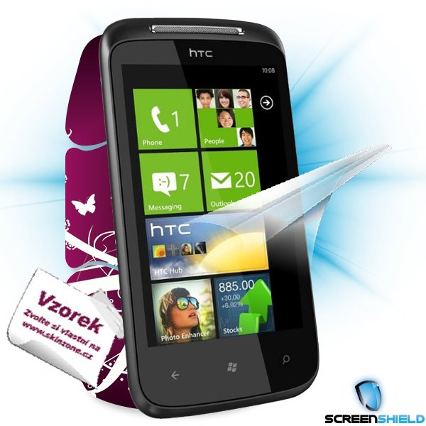 ScreenShield HTC Mozart - Film for display protection and voucher for decorative skin (including shipping fee to end cus