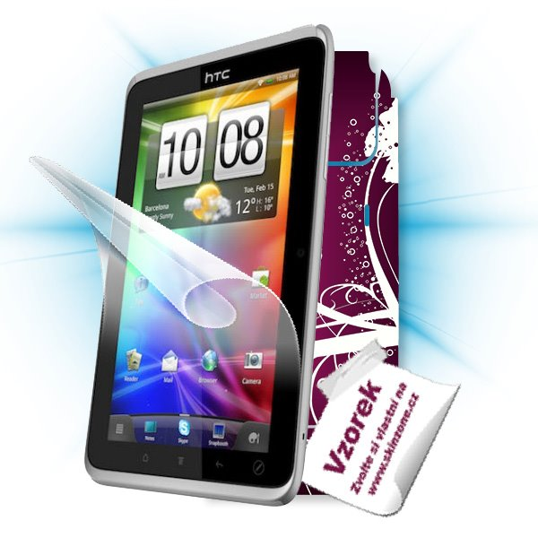 ScreenShield HTC Flyer Tablet PC - Film for display protection and voucher for decorative skin (including shipping fee t