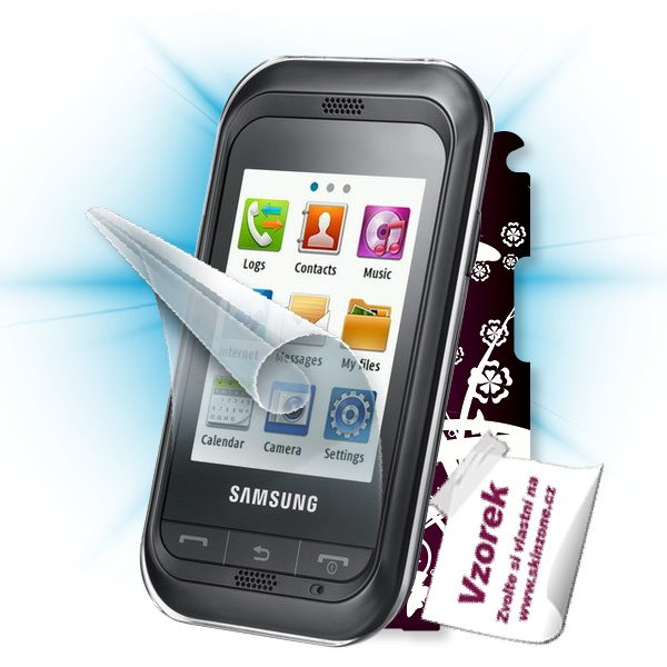 ScreenShield Samsung Champ (GT-C3300K) - Film for display protection and voucher for decorative skin (including shipping