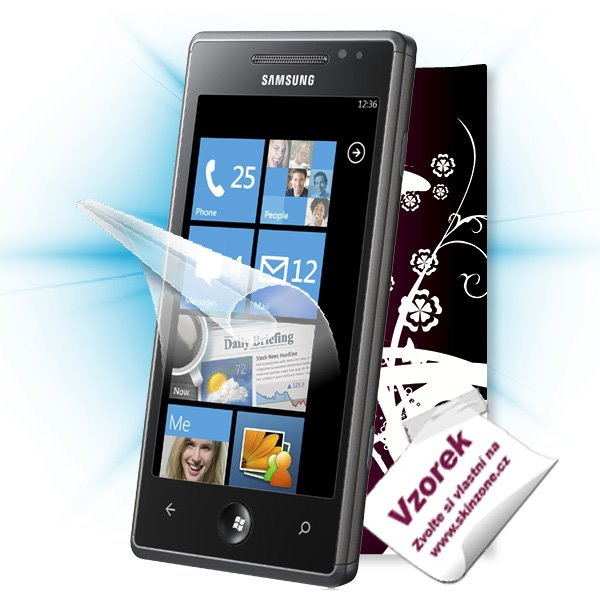 ScreenShield Samsung Omnia 7 (i8700) - Film for display protection and voucher for decorative skin (including shipping f