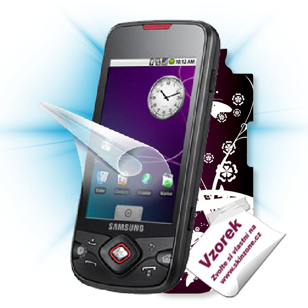 ScreenShield Samsung Galaxy Spica (i5700) - Film for display protection and voucher for decorative skin (including shipp