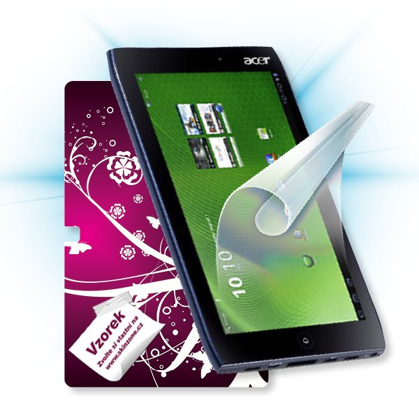 ScreenShield Acer Iconia TAB A500 Picasso - Film for display protection and voucher for decorative skin (including shipp