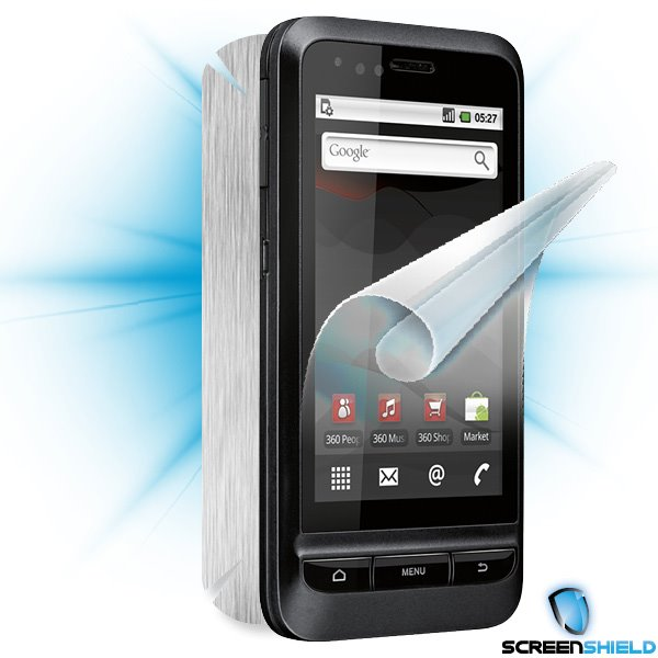 ScreenShield Vodafone 945 - Films on display and carbon skin (silver)