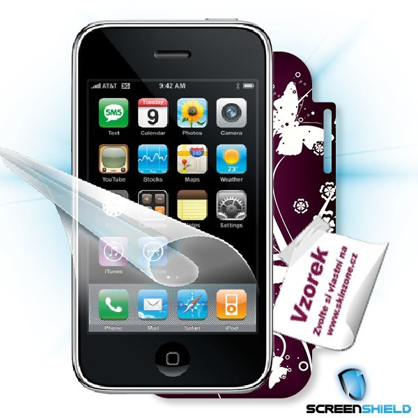 ScreenShield iPhone 3G/3GS - Film for display protection and voucher for decorative skin (including shipping fee to end