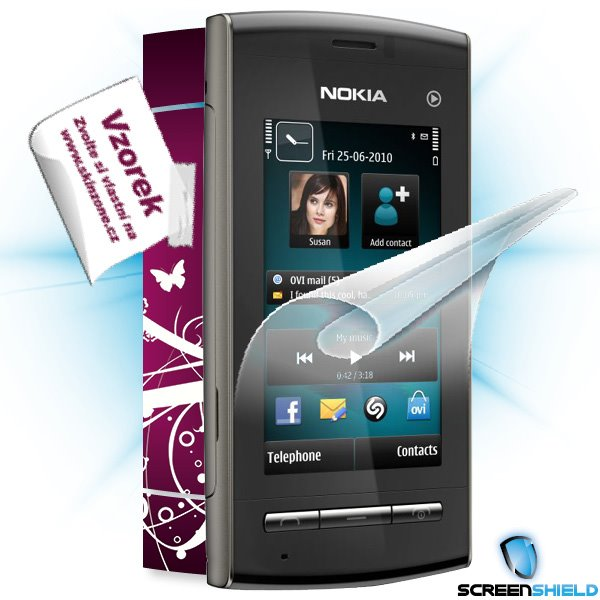 ScreenShield Nokia 5250 - Film for display protection and voucher for decorative skin (including shipping fee to end cus