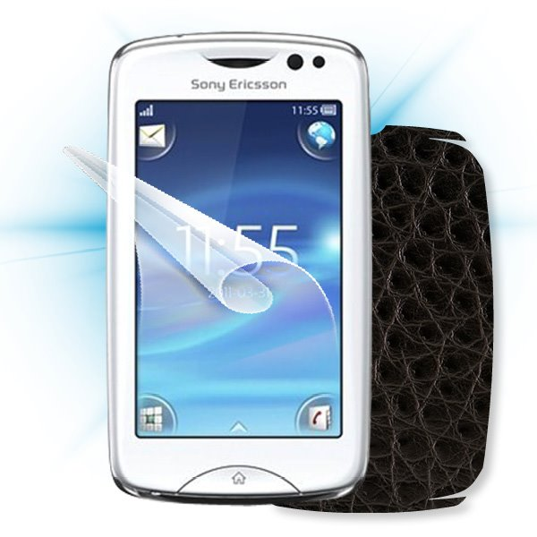 ScreenShield Sony Ericsson Xperia txt Pro - Films on display and carbon skin (leather)