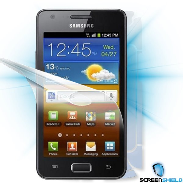 ScreenShield GT-i9103 Galaxy R - Film for display + body protection