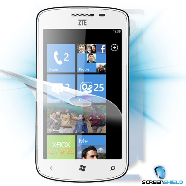 ScreenShield ZTE Tania - Film for display + body protection