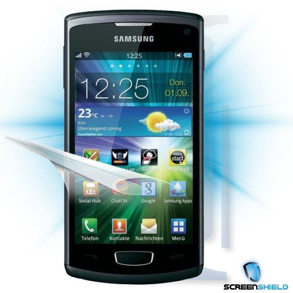 ScreenShield Samsung Wave III S8600 - Film for display + body protection