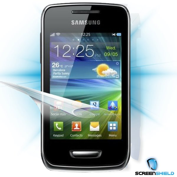 ScreenShield Samsung Wave Y S5380 - Film for display + body protection