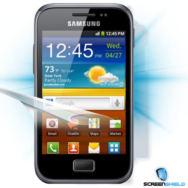 ScreenShield Samsung Galaxy S Plus i9001 - Film for display + body protection