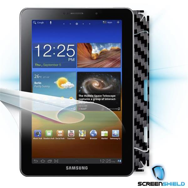 ScreenShield Samsung Galaxy Tab 7.7 GT-P6800 - Films on display and carbon skin (black)