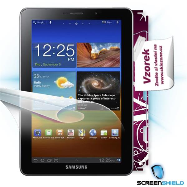 ScreenShield Samsung Galaxy Tab 7.7 GT-P6800 - Film for display protection and voucher for decorative skin (including s