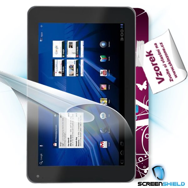 ScreenShield LG Optimus Pad - Film for display protection and voucher for decorative skin (including shipping fee to end