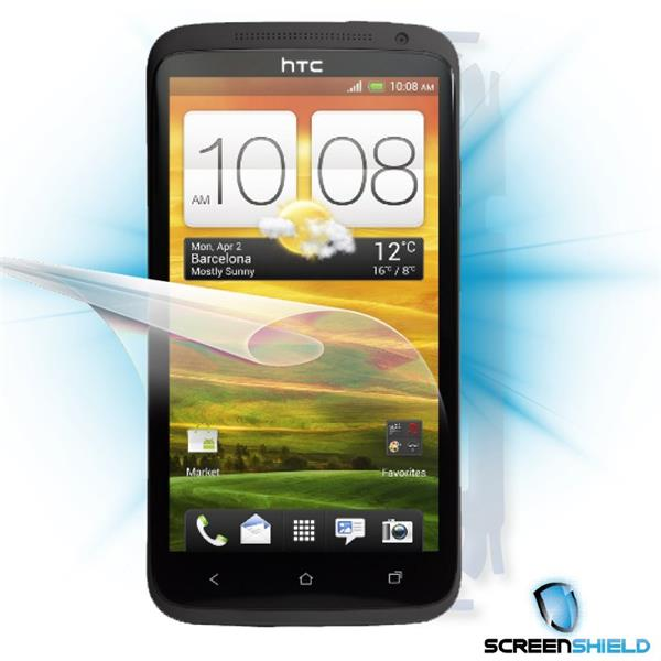 ScreenShield HTC One X - Film for display + body protection