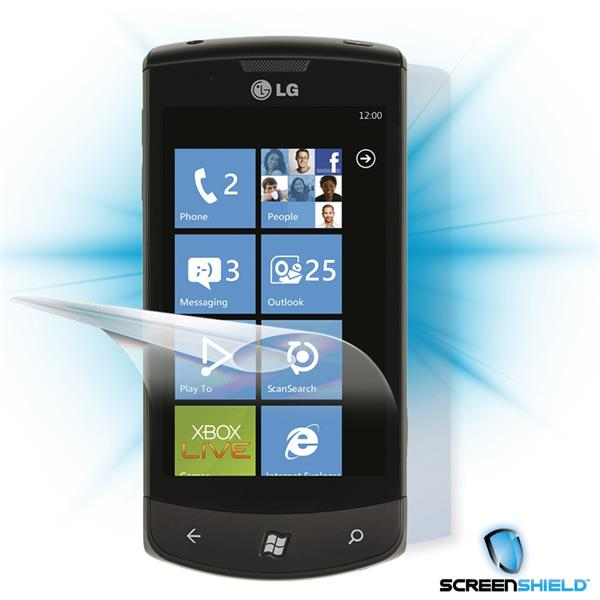 ScreenShield LG Optimus 7 E900 - Film for display + body protection