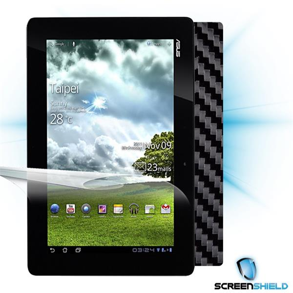 ScreenShield Asus Transformer Prime TF201 - Films on display and carbon skin (black)