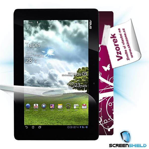 ScreenShield Asus Transformer Prime TF201 - Film for display protection and voucher for decorative skin (including shipp