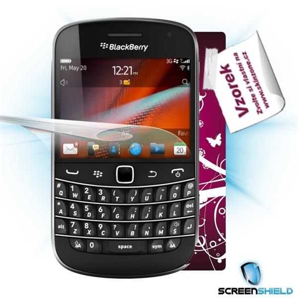 ScreenShield Blackberry Bold 9900 - Film for display protection and voucher for decorative skin (including shipping fee