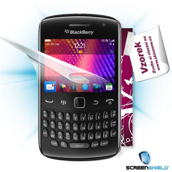 ScreenShield Blackberry Curve 9360 - Film for display protection and voucher for decorative skin (including shipping fee