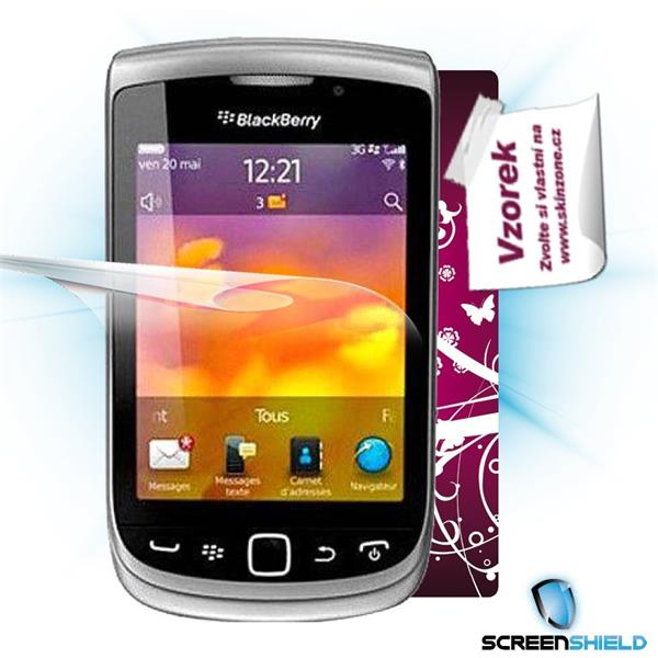 ScreenShield Blackberry Torch 9810 - Film for display protection and voucher for decorative skin (including shipping fee