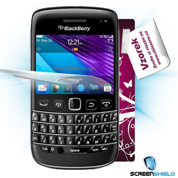 ScreenShield Blackberry Bold 9790 - Film for display protection and voucher for decorative skin (including shipping fee