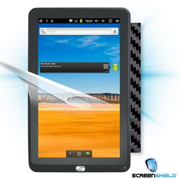 ScreenShield GoClever Tab TAB A103 - Films on display and carbon skin (black)