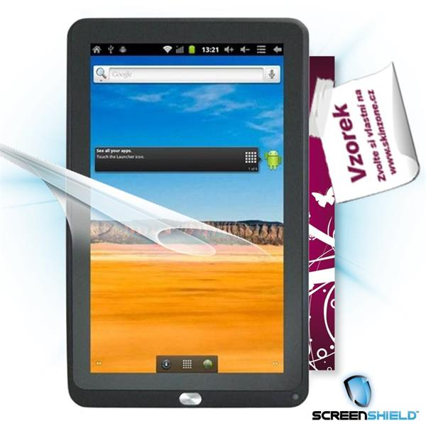 ScreenShield GoClever Tab TAB A103 - Film for display protection and voucher for decorative skin (including shipping fee
