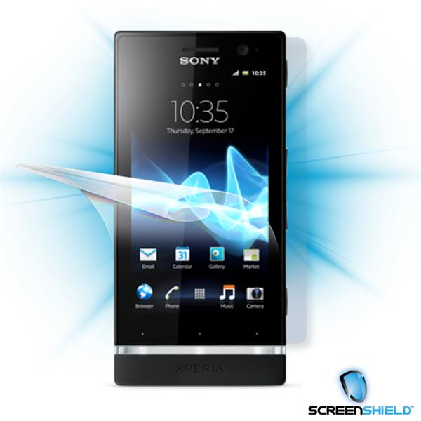 ScreenShield Sony Xperia U - Film for display + body protection