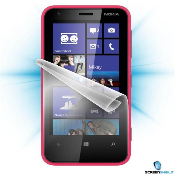 ScreenShield Nokia Lumia 610 - Film for display protection and voucher for decorative skin (including shipping fee to en