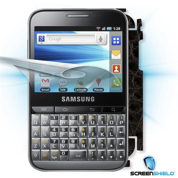 ScreenShield Samsung Galaxy Pro B7510 - Films on display and carbon skin (leather)
