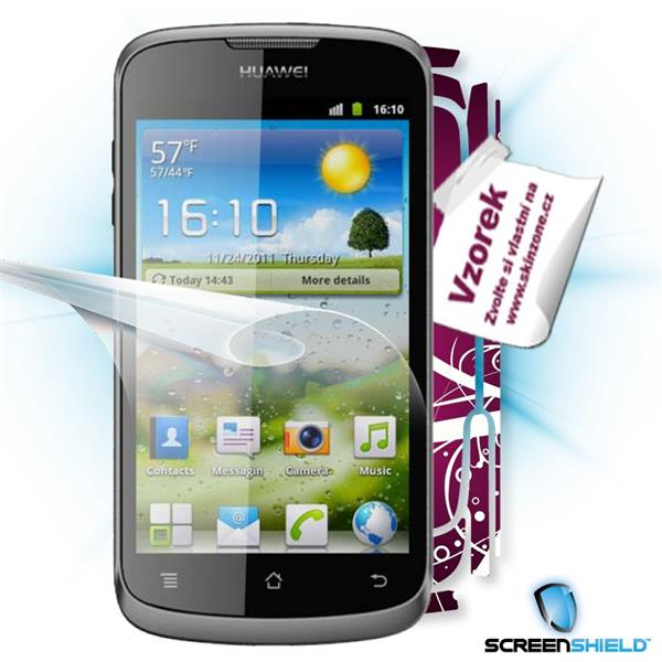 ScreenShield Huawei Ascend G300 U8815 - Film for display protection and voucher for decorative skin (including shipping